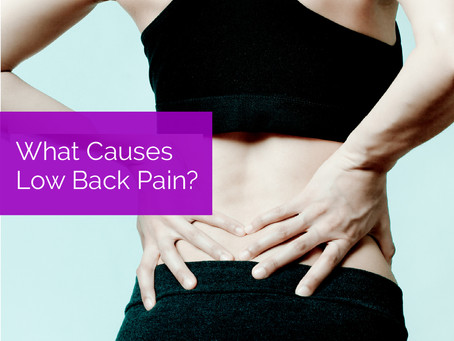 What Causes Low Back Pain?