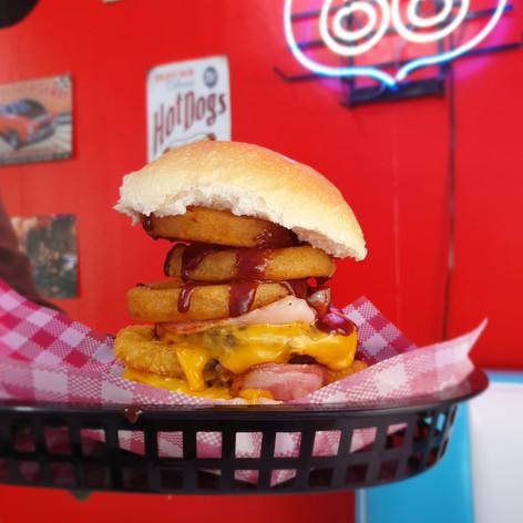 The Big Bopper Burger