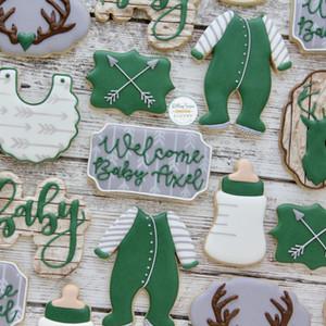 Oh Deer Baby Shower Cookies