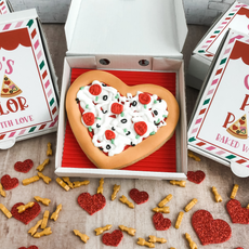 Cupid's Pizza Parlor Valentine's Day Cookies