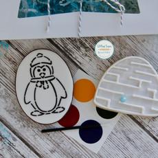 Penguin Igloo Cookies