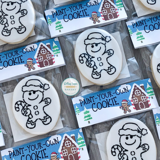 Paint-Your-Own Gingerbread Cookies