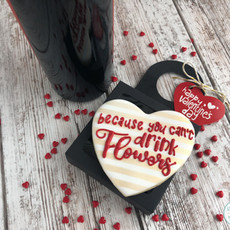 Wine Bottle Topper Cookies