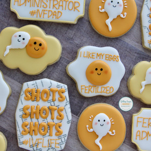 Fertility and IVF Cookies