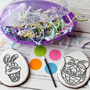Paint-Your-Own Easter Cookies
