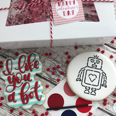 I Like You A Bot Valentine's Day Cookies