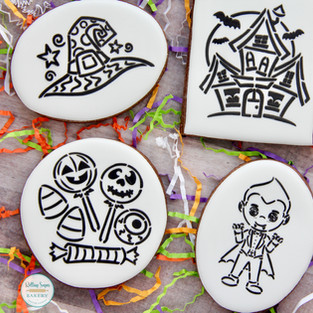 Paint-Your-Own Halloween Cookies