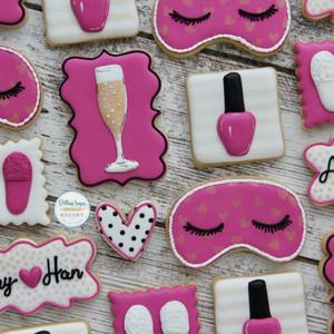 Bachelorette Spa Weekend Cookies