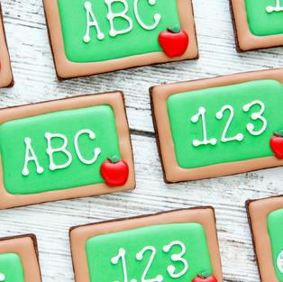 ABC 123 Cookies