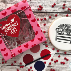 Paint-Your-Own Valentine's Day Cookies
