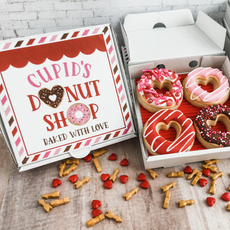 Cupid's Donut Shop Valentine's Day Cookies