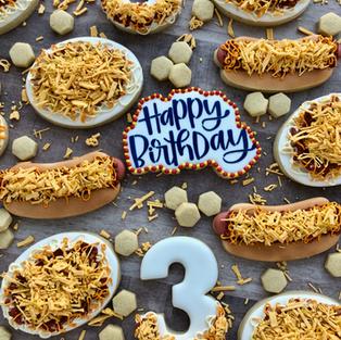 Cincinnati Chili Birthday Cookies