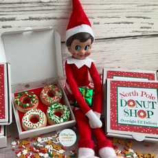 North Pole Donut Shop Cookies