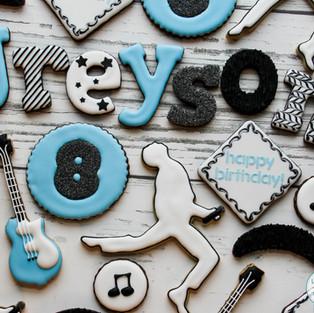 Freddie Mercury Birthday Cookies