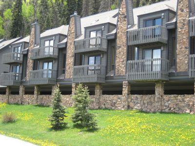 Cascade Village Condo in June