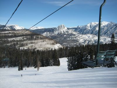 View From the Ski Lift