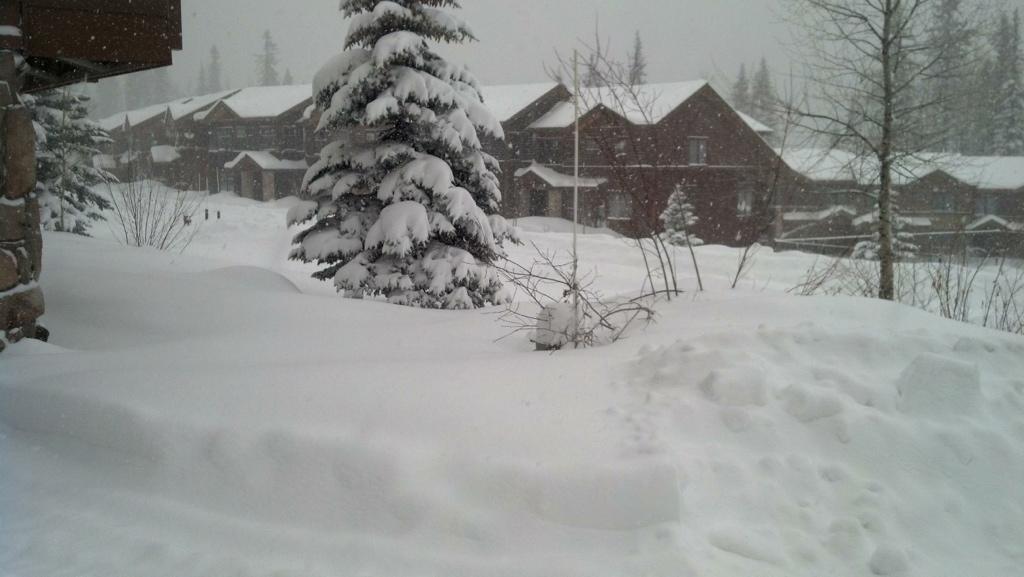 Snow At The Condo