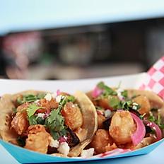Scallop & Pork Belly Tacos (2/Order)