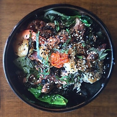 Teppanyaki Shrimp & Steak Rice Bowl
