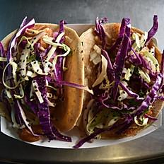 Baja Fish Tacos (2/Order)