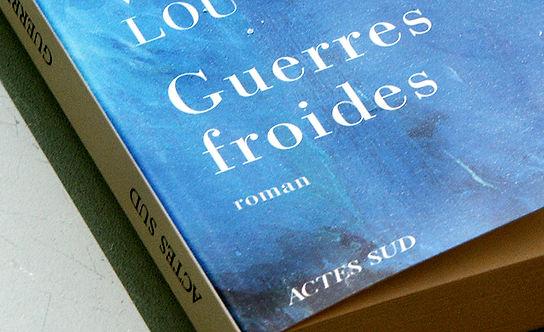 """Gros plan du livre """"Guerres frids"""" de Virginie Lou"""