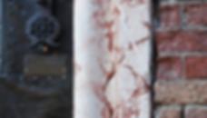 Portail et mur en marbre à Venise