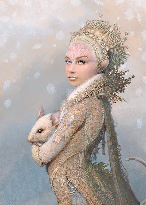 Winter Mouse -- Original Art