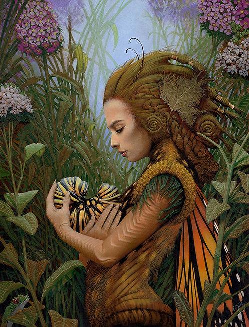 Monarch -- Original art