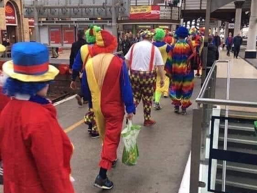 Send in the clowns ….. don't bother, they're already here