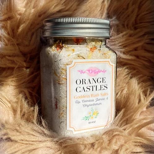 Orange Castles Goddess Bath Salts