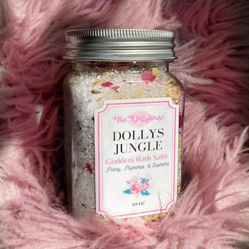 Dollys Jungle Goddess Bath Salts