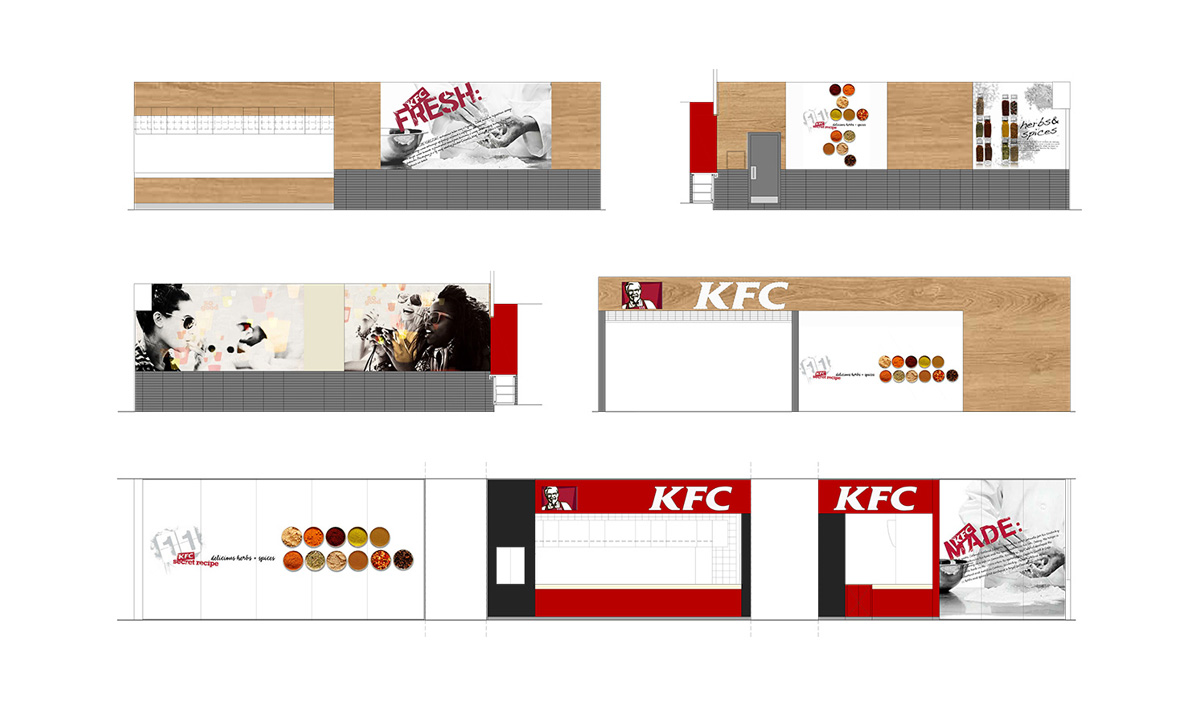 KFC AVENUE MALL-pogledi