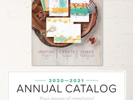 Stampin' Up Product Update May 2020