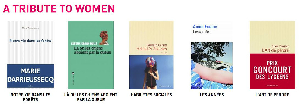 Discover on culturetheque a selction of books by contemporary female writers