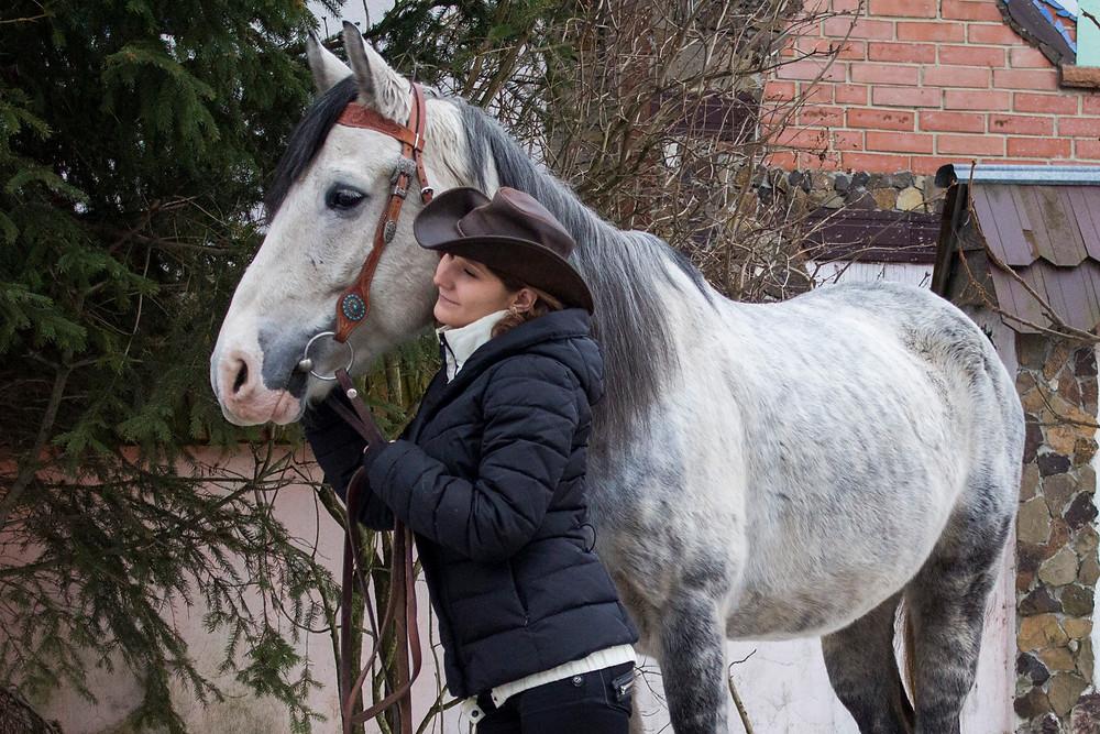 Активный отдых на природе с лошадьми