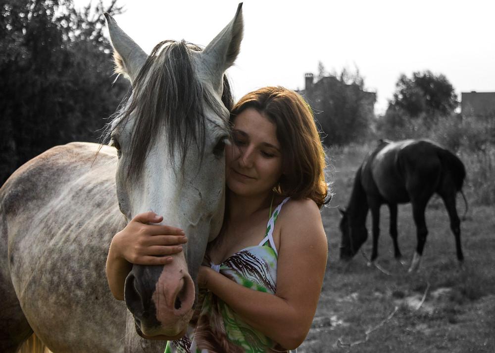різниця між зором коня та людини