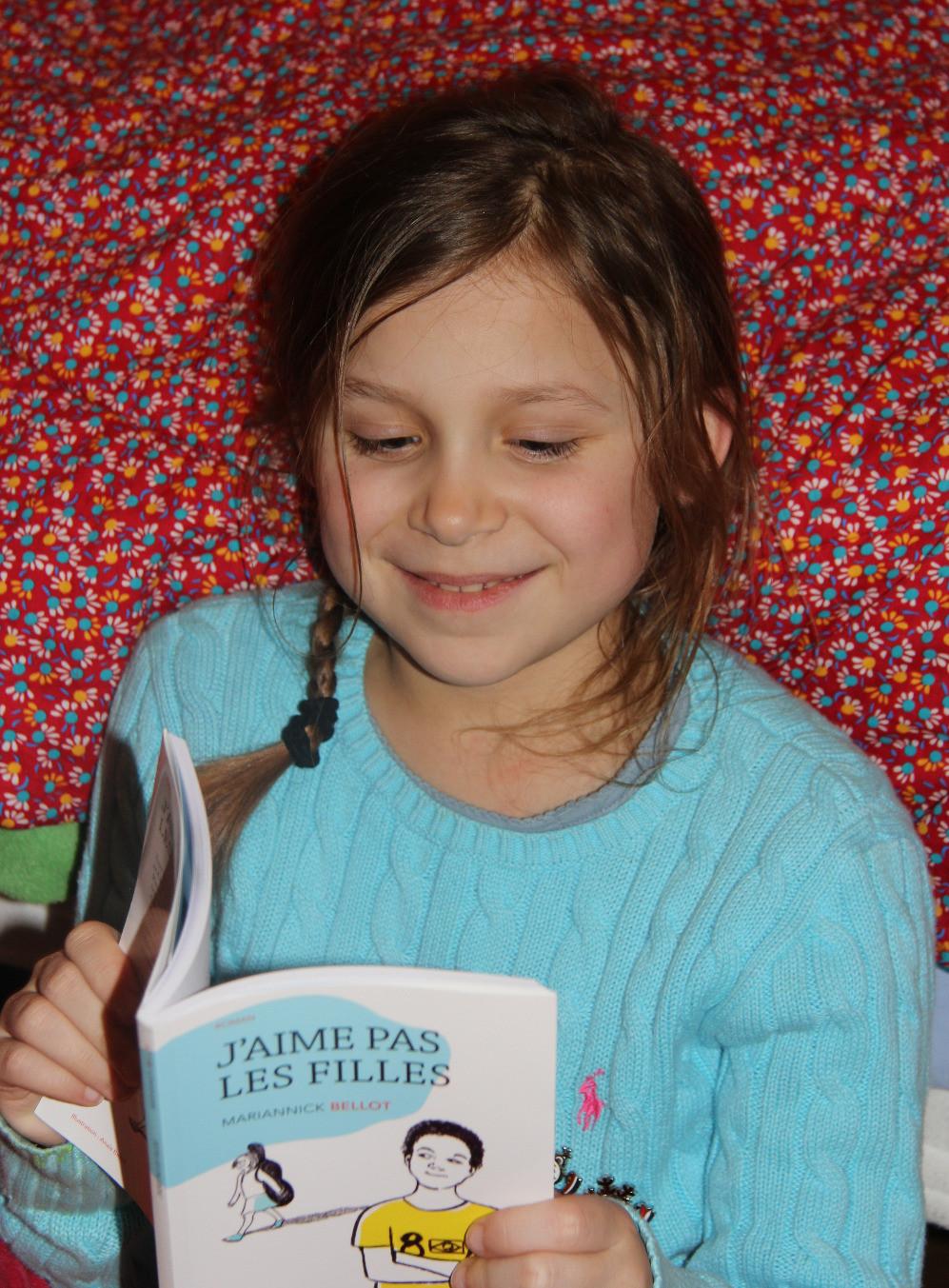 """""""J'aime pas les filles"""", un roman jeunesse publié chez Actes Sud Junior"""