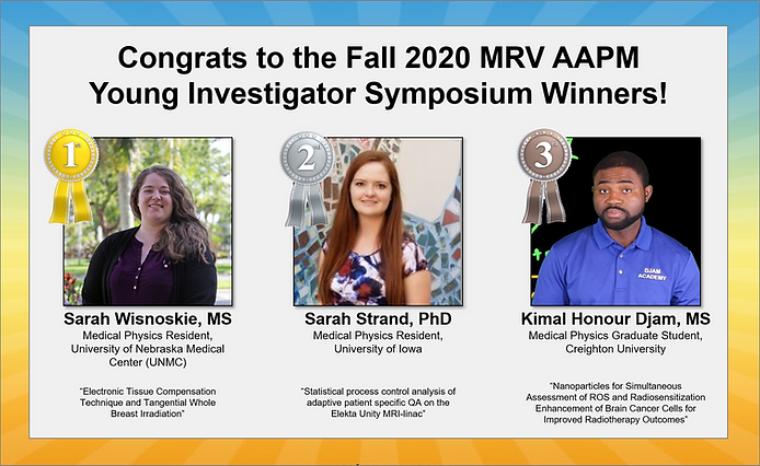 MRVAAPM 2020 Fall YIS Winners Announceme