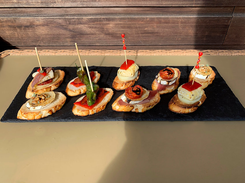 Pintxos selection