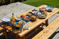 Greek lunch mezze