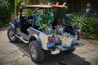 Aloha jeep beach bar Ash Barton