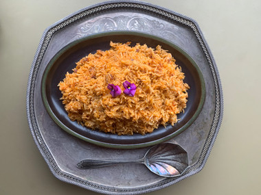 Moroccan wedding  rice