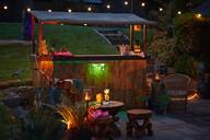 Tiki bar hire devon weddings