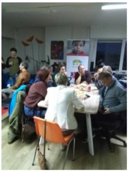 A participation group for grandparen