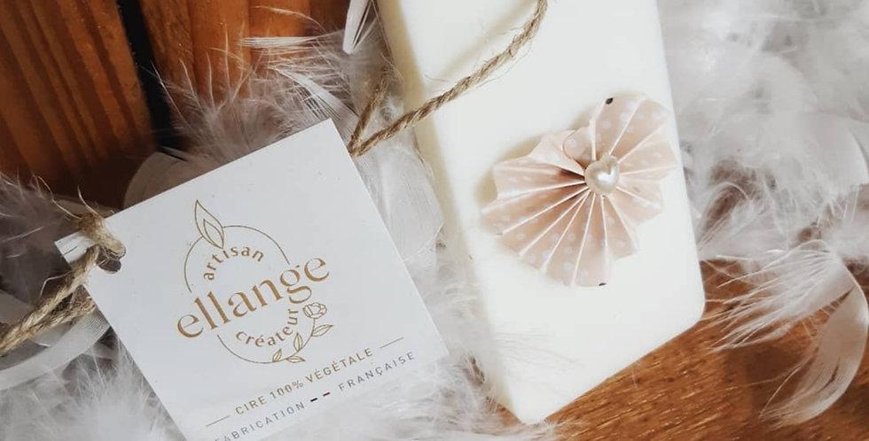Parfum à suspendre ORIGAMI rose senteur Fleur de coton - forme aléatoire -