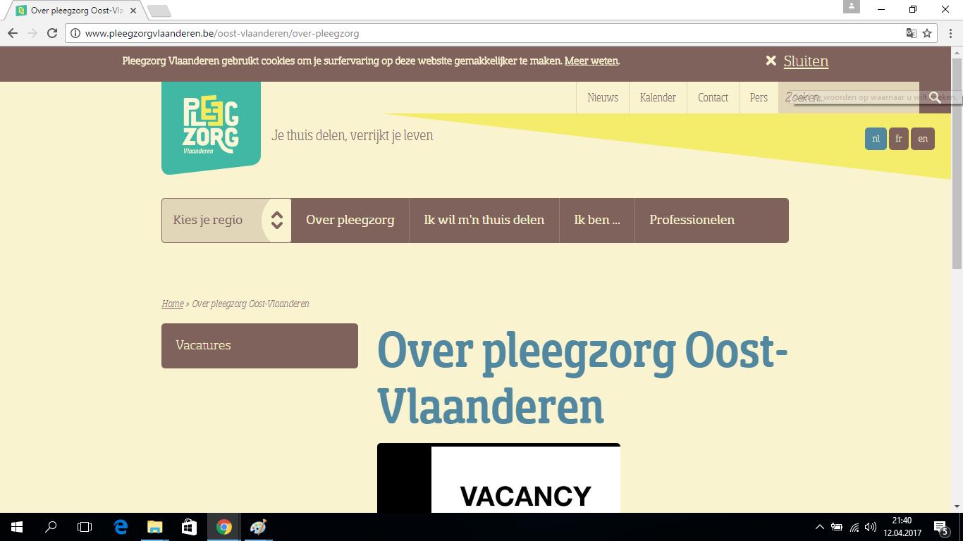 Pleegzorg  Oost Vlanderen v.z.w
