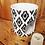 Thumbnail: Accessoire BRULE PARFUM couleur Blanc motif noir