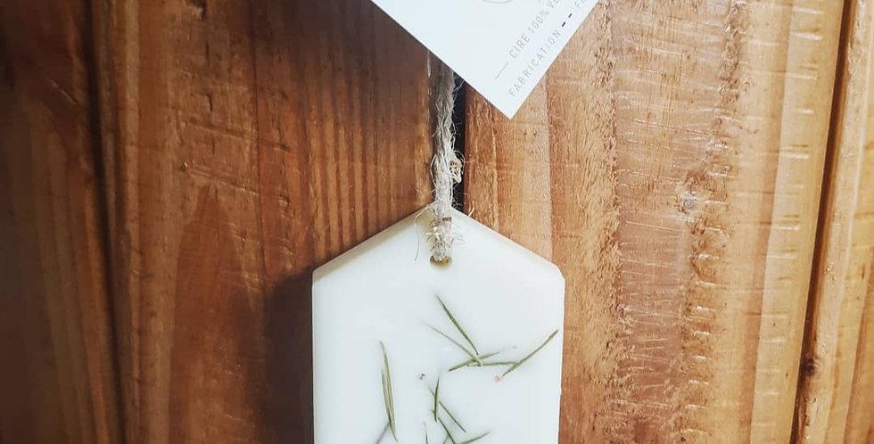Parfum à suspendre senteur Pin des landes - forme aléatoire -