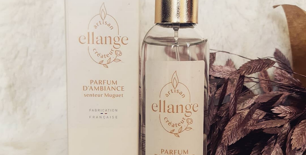 Parfum d'ambiance senteur Muguet, 100 ml