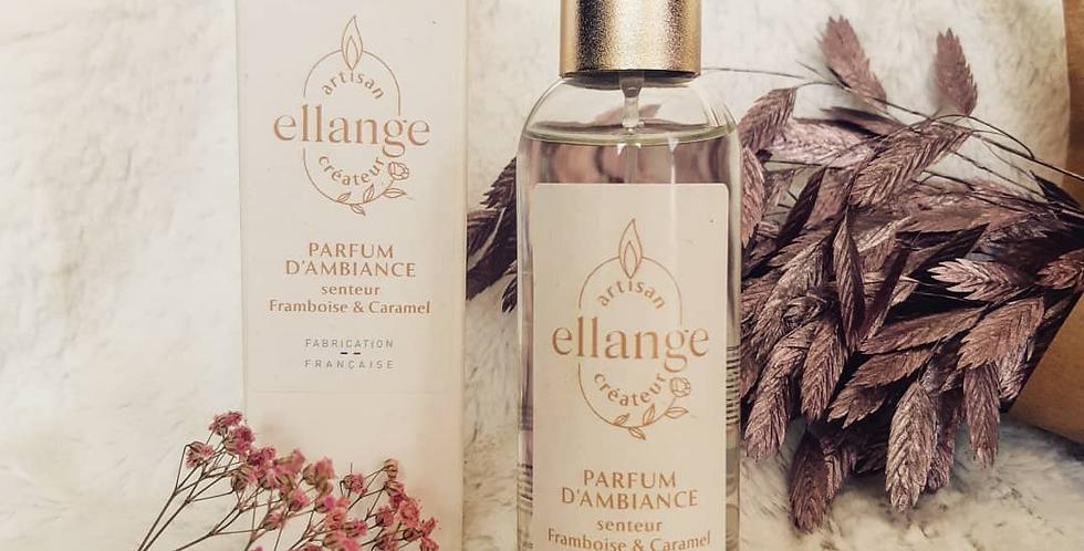 Parfum d'ambiance senteur Framboise & Caramel, 100 ml